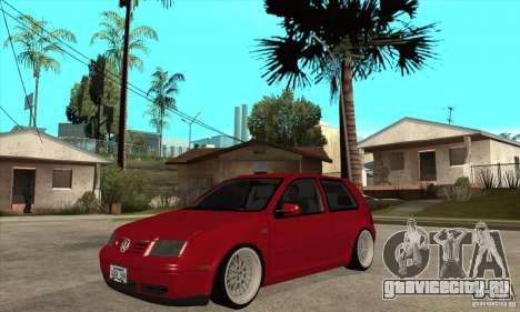 VW Golf 4 V6 Bolf для GTA San Andreas