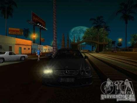 Mercedes-Benz CLK55 AMG для GTA San Andreas вид справа