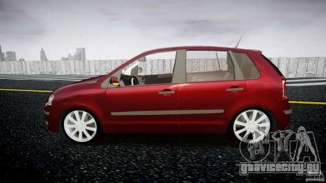 Volkswagen Polo 1998 для GTA 4 вид слева