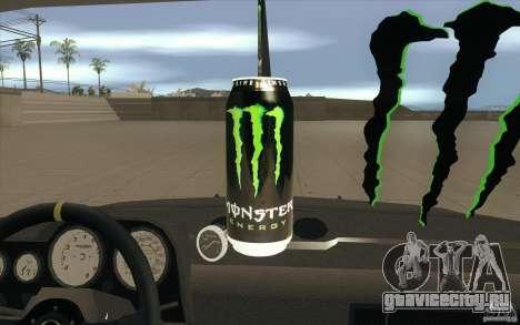 ВАЗ-2106 Lada Drift Tuned для GTA San Andreas вид снизу