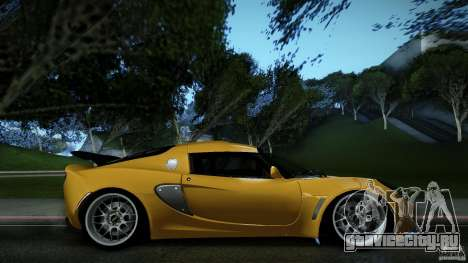 Lotus Exige Track Car для GTA San Andreas вид слева