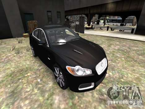 Jaguar XFR для GTA 4 вид сбоку