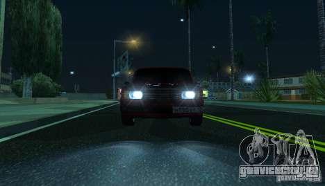 ВАЗ 2107 Gangsta для GTA San Andreas вид справа