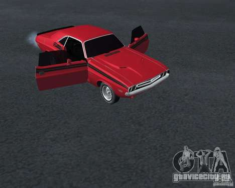 Dodge Chellenger V2.0 для GTA San Andreas вид справа