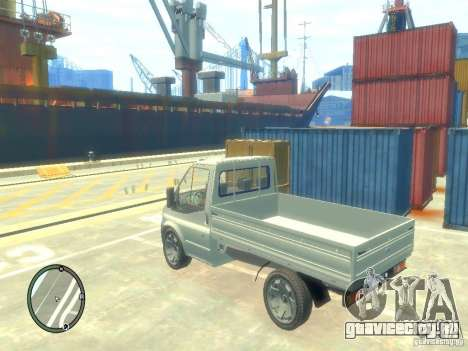 Ford Transit 2007 Pickup для GTA 4 вид слева