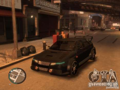 Lada ВАЗ 2112 Hard Tuning by BLC для GTA 4