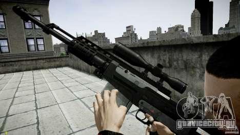 Accuracy International AS50 для GTA 4 пятый скриншот