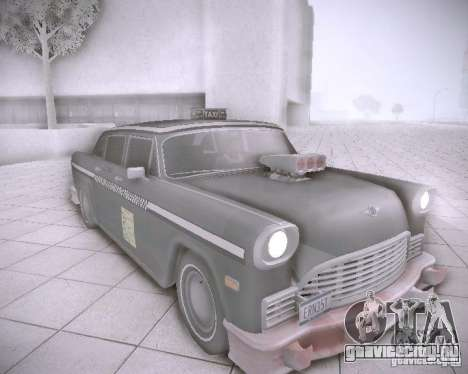 Diablo Cabbie HD для GTA San Andreas вид слева