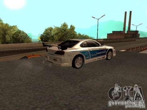 Nissan s15 Performa Drift для GTA San Andreas вид слева