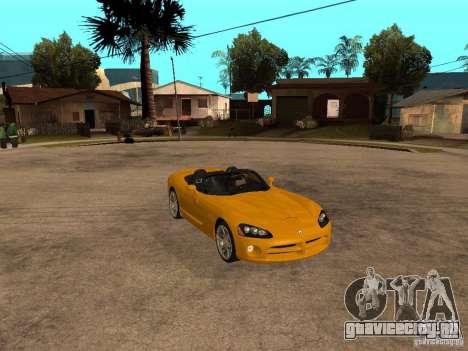 Dodge Viper SRT10 Impostor Tuning для GTA San Andreas вид справа