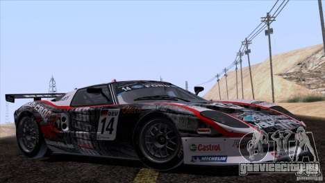 Ford GT Matech GT3 Series для GTA San Andreas двигатель