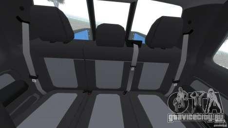 Ford F150 SVT Raptor 2011 для GTA 4 вид сзади