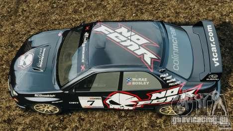 Subaru Impreza WRX STI N12 для GTA 4 вид справа
