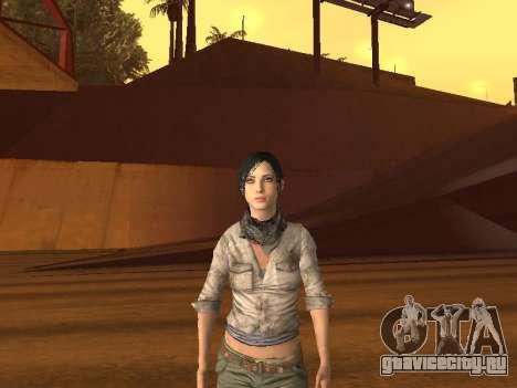 FaryCry 3 Liza Snow для GTA San Andreas