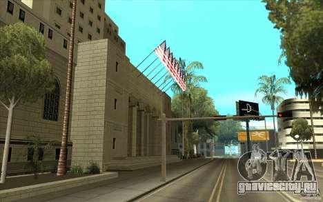 Улучшенные текстуры мэрии для GTA San Andreas второй скриншот