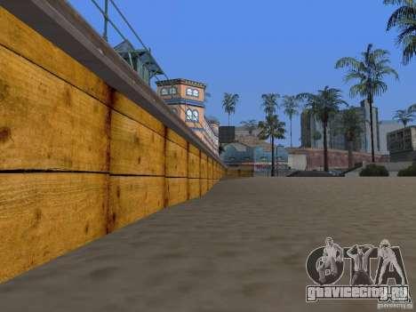 Новые текстуры пляжа v2.0 для GTA San Andreas шестой скриншот