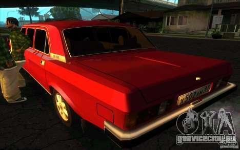 ГАЗ 3102 Волга Лимузин для GTA San Andreas вид слева
