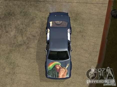 VW Jetta для GTA San Andreas вид сзади
