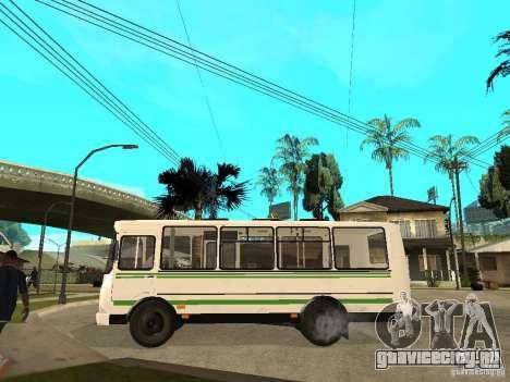 ПАЗ 3205 для GTA San Andreas вид слева