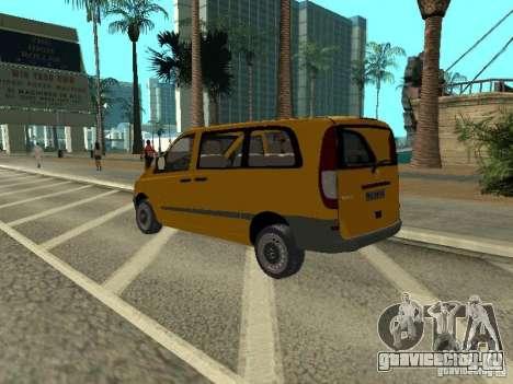 Mercedes-Benz Vito 2003 для GTA San Andreas вид слева