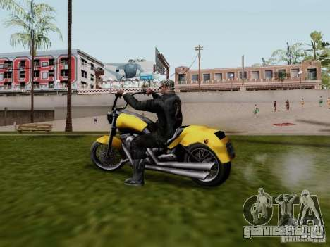 Vice City Freeway для GTA San Andreas вид слева