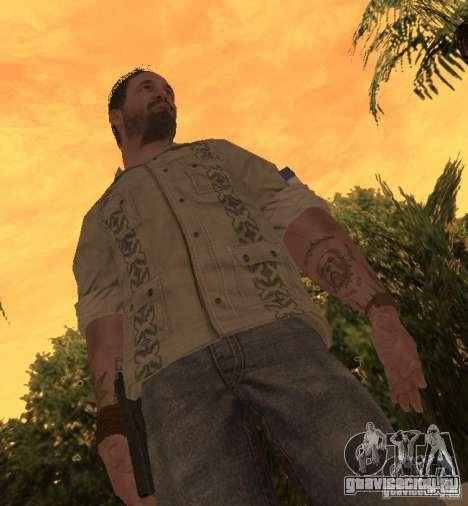 Франк Вудс из Call of Duty Black Ops для GTA San Andreas второй скриншот
