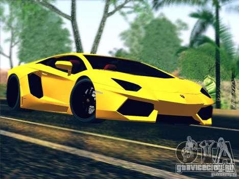 Lamborghini Aventador LP700-4 2011 V1.0 для GTA San Andreas вид сбоку