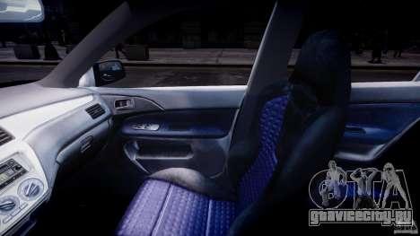 Mitsubishi Lancer Evolution VIII для GTA 4 вид справа