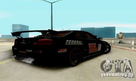 Nissan Silvia S15 Tunable для GTA San Andreas салон