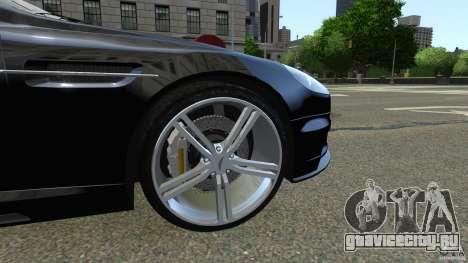 Aston Martin DBS v1.0 для GTA 4 вид изнутри