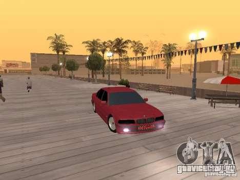 BMW 750iL e38 Дипломат для GTA San Andreas вид справа