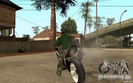 Streetfighter NRG 500 Snakehead v2 для GTA San Andreas вид сзади слева