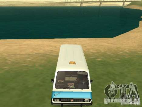 РАФ 2203 CR v.2 для GTA San Andreas вид сзади