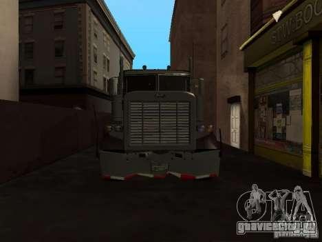Phantom из GTA IV для GTA San Andreas вид сбоку