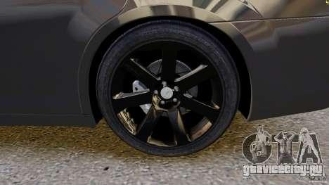 Chrysler 300 SRT8 2012 для GTA 4 вид изнутри