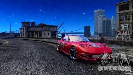 Mazda RX-7 FnF для GTA 4