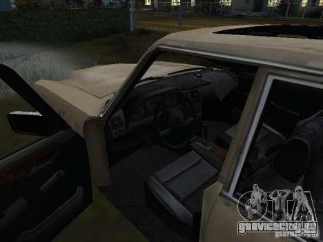 Mercedes-Benz из Call of Duty 4 для GTA San Andreas вид справа