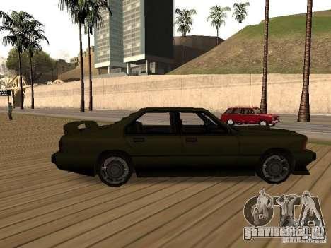 Sentinel XS для GTA San Andreas вид слева