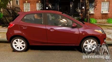 Mazda 2 2011 для GTA 4 вид слева