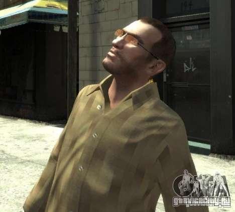 Новые очки для Нико - розовые для GTA 4 третий скриншот