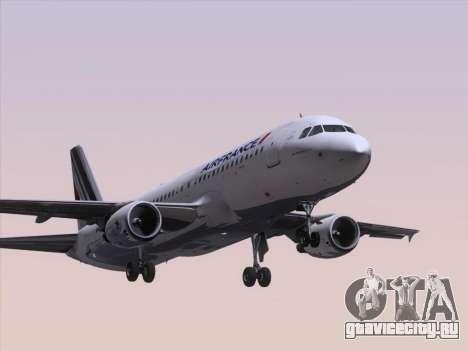 Airbus A320-211 Air France для GTA San Andreas вид слева