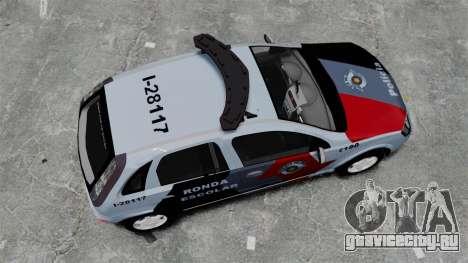 Chevrolet Corsa 2012 PMESP ELS для GTA 4 вид справа