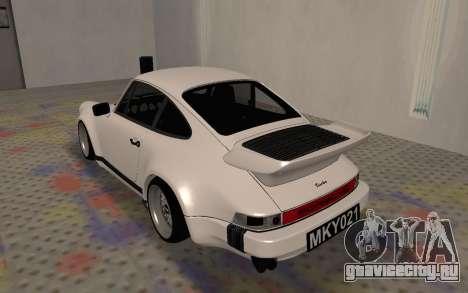 Porsche 911 Turbo для GTA San Andreas вид справа