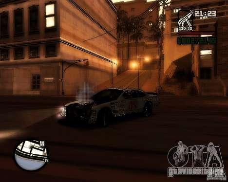 Dodge Nascar Beers Light 40 для GTA San Andreas вид сзади слева