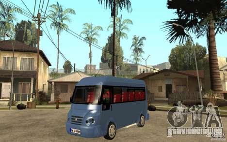 Karsan J10 для GTA San Andreas