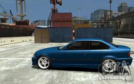 BMW M3 E36 v1.0 для GTA 4 вид сзади слева