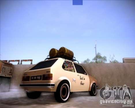 Volkswagen Golf MK1 rat style для GTA San Andreas вид слева