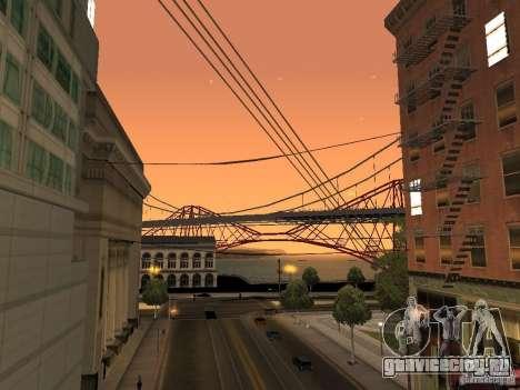New Sky Vice City для GTA San Andreas третий скриншот