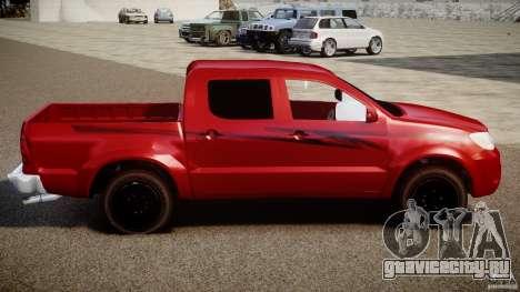 Toyota Hilux 2010 для GTA 4 вид слева