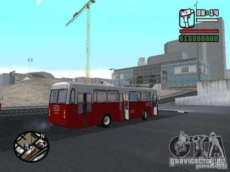 Ikarus Ik4 для GTA San Andreas вид сзади